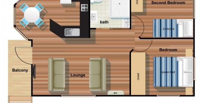 2 Bedroom Beach House