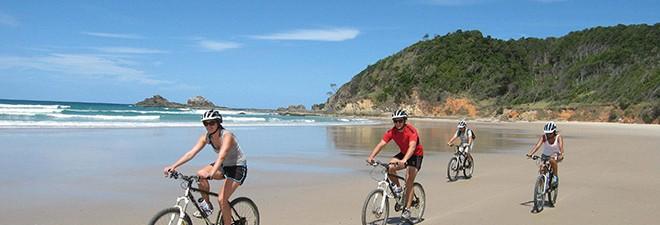 Best Byron Bay Family Cycling Trails
