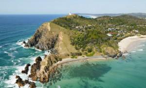 Byron Bay land and sea