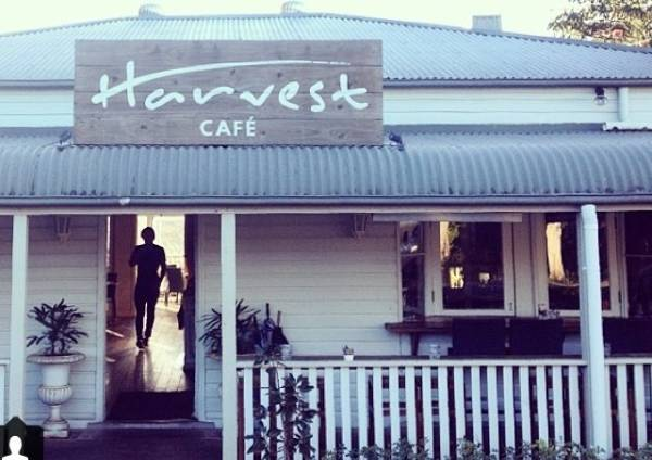 Harvest Cafe in Newrybar for intimate dining