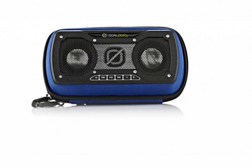 Solar speakers, photo courtesy of photo courtesy of https://www.facebook.com/GoalZeroPromoCode