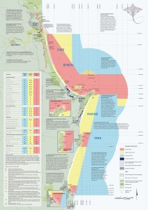 Byron Bay Fishing Map