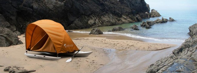 Cool camping gear - futuristic tents