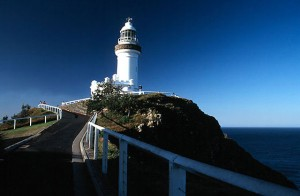 Romantic century-old Byron Bay lighthouse