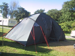 Find the perfect size tent for your family.