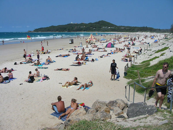 Main Beach, Byron Bay