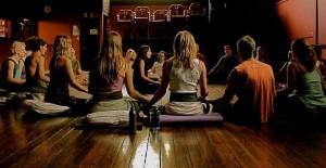 Meditation workshop.