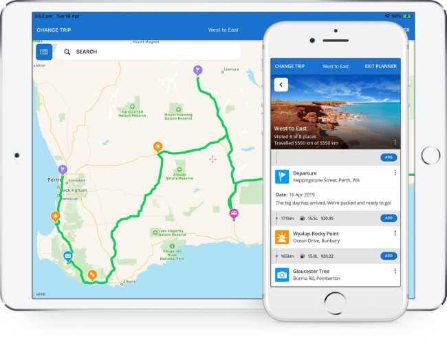 Byron Bay camping apps